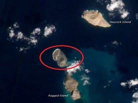 Hòn đảo 'mọc' giữa biển Đỏ trong 4 ngày