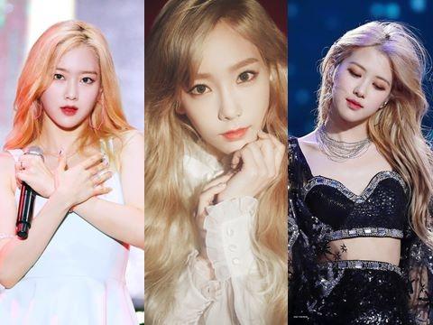 6 nàng 'công chúa tóc vàng' đẹp nhất Kbiz: Khí chất, nhan sắc thăng hạng vù vù