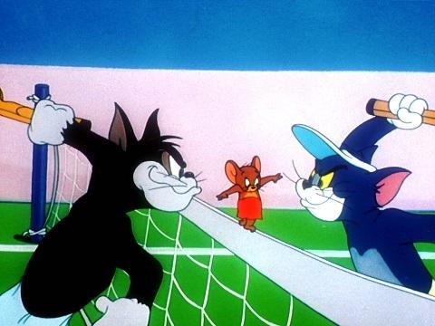 Cười sặc cơm xem 'Tom Và Jerry: Phát Cuồng Vì Tennis'