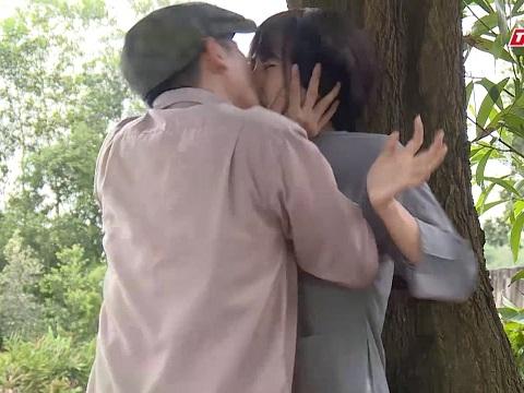 Huy Khánh thô bạo cưỡng hôn Ngọc Lan trong 'Luật Trời'