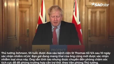 Tin COVID-19 7_4- Thủ tướng Anh chuyển biến xấu, hơn 10.000 người chết ở Mỹ - 1,3 triệu ca toàn cầu