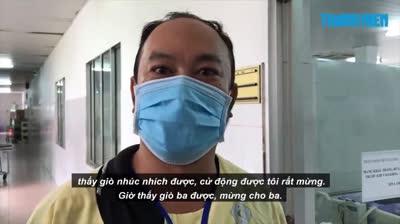 Cứu sống ngoạn mục người đàn ông bị đột quỵ não chuyển đến bệnh viện rất trễ