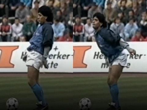 Huyền thoại Maradona và thói quen khởi động theo nhạc 'cực chất'