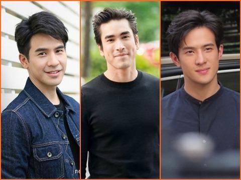 Top 3 nam thần của đài CH3 Thái Lan được săn đón nhất