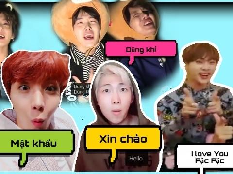 BTS và dàn idol Kpop gây xao xuyến khi hát tiếng Việt