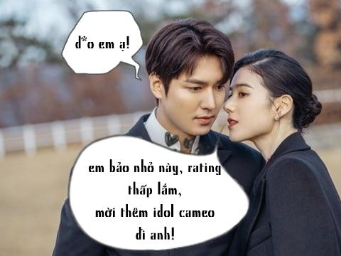 Phim của Lee Min Ho bị chê tả tơi, fan đề xuất cho các idol làm cameo cứu rating