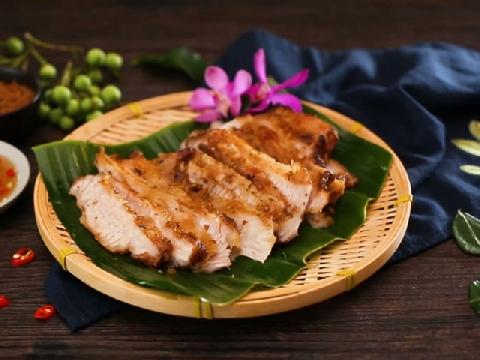 Cách làm món thịt heo nướng kiểu Thái