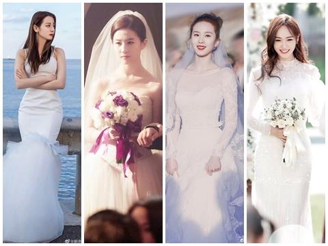 7 cô dâu 'nhìn là muốn cưới' trên màn ảnh Hoa Ngữ