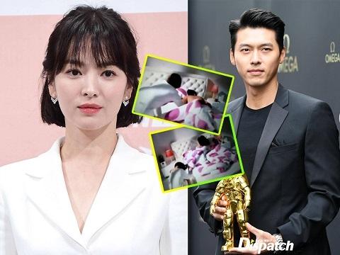Song Hye Kyo lộ clip 'nhạy cảm' với Hyun Bin trên phim trường