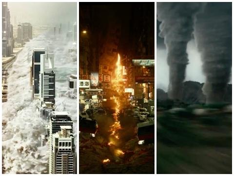 2 phút kinh hãi với cảnh phim đáng sợ về ngày tận thế - 'Geostorm'