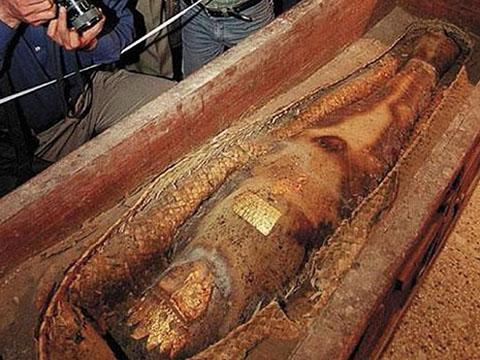 Sự nhầm lẫn về xác ướp của công chúa Ba Tư