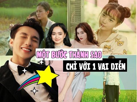 3 diễn viên Việt vụt sáng thành sao ngay trong lần đầu đóng phim