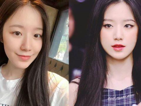 Lộ diện nữ hoàng mặt mộc mới nhất Kpop, nhăm nhe soán ngôi cả Suzy