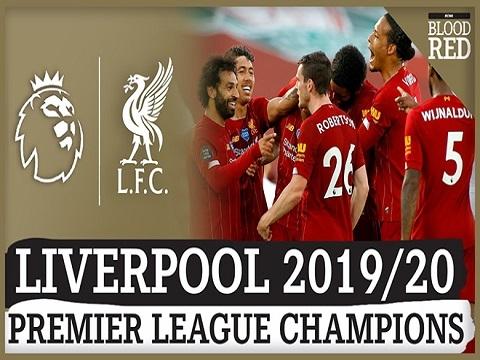 Liverpool trở thành nhà vua của Ngoại hạng Anh