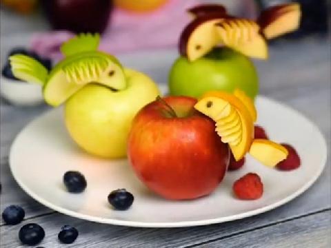 Loạt cách sáng tạo món ngon từ quả táo