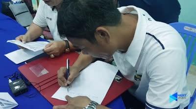 SLNA viết đơn gửi VPF phản đối trọng tài sau trận thua Quảng Nam