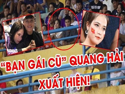 Bạn gái cũ Quang Hải xuất hiện ở Derby Hà Nội FC - Viettel