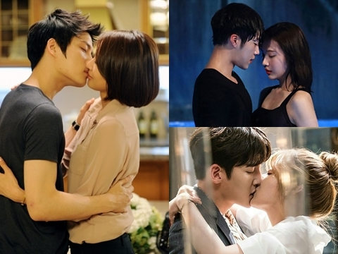'50 sắc thái' phía sau cảnh hôn phim Hàn