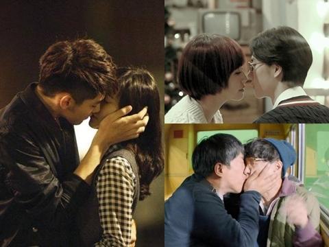 Nụ hôn đầu tiên của 10 nam thần Cbiz trên màn ảnh