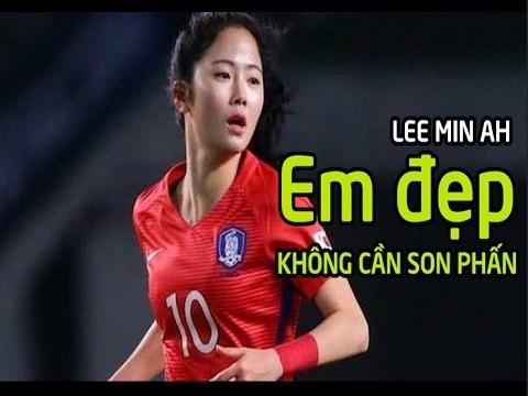 Lee Min Ah - Nữ tiền vệ xinh đẹp nhất xứ sở Kim Chi