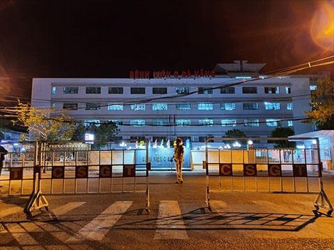Ba bệnh viện bị phong tỏa trong đêm ở Đà Nẵng