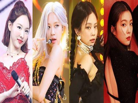 10 nữ idol hot nhất Kpop: BLACKPINK - Red Velvet đua gắt nghẹt thở