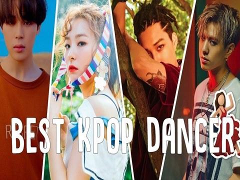 """Những main dancer khiến giới idol """"tâm phục khẩu phục"""""""