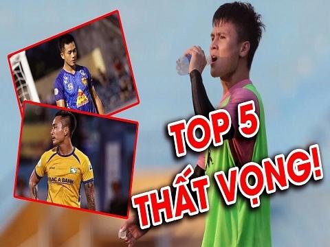 Top 5 nội binh gây thất vọng nhất V.League 2020
