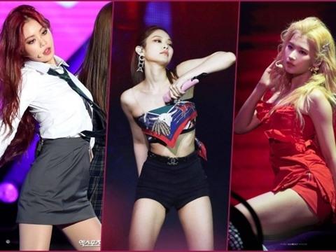7 nữ thần tượng sexy nhất Kpop trong mắt đồng nghiệp