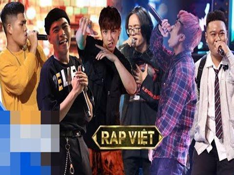 7 bài rap bùng nổ Rap Việt gây bão mạng xã hội suốt tuần qua!
