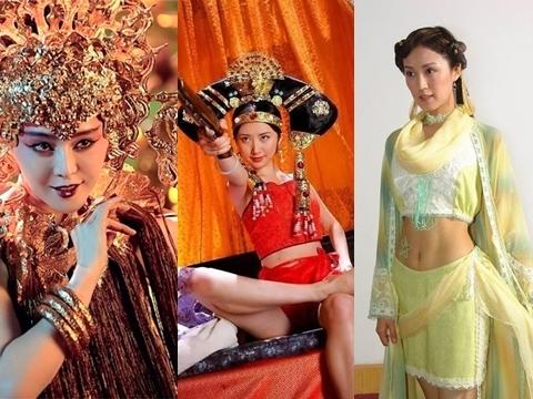 Những bộ trang phục gây nhức mắt trong phim cổ trang Hoa Ngữ