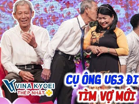 Cụ ông U70 lên sóng truyền hình kiếm vợ khiến Quyền Linh bất ngờ