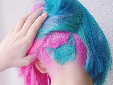 Giới trẻ rộ mốt khoe cá tính bằng hình xăm trên tóc