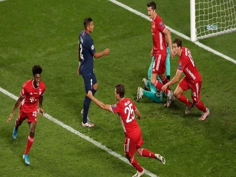 PSG 0-1 Bayern Munich (Chung kết Champions League 2020)