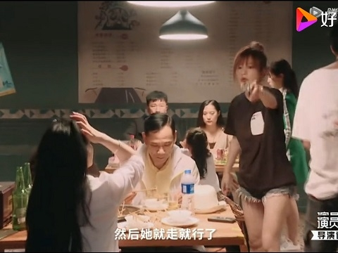 SỐC: Lộ clip Triệu Vy quát mắng diễn viên trên phim trường