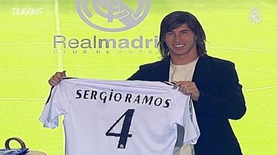 Khoảnh khắc huyền thoại Ramos xuất hiện ở Real Madrid