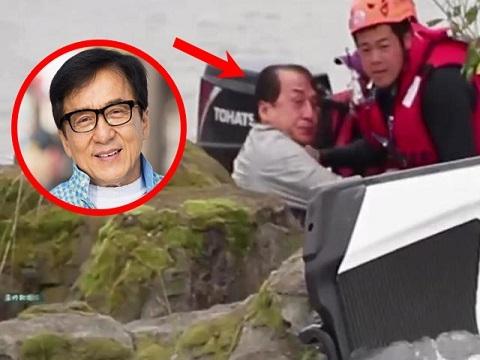 Thành Long gặp tai nạn nghiêm trọng, suýt chết đuối trên phim trường