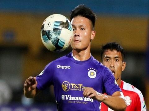 Quang Hải in dấu giày ở 4 bàn thắng cho Hà Nội FC
