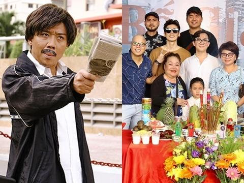 Trần Thành làm lễ khai máy phim 'Bố Già' bản điện ảnh