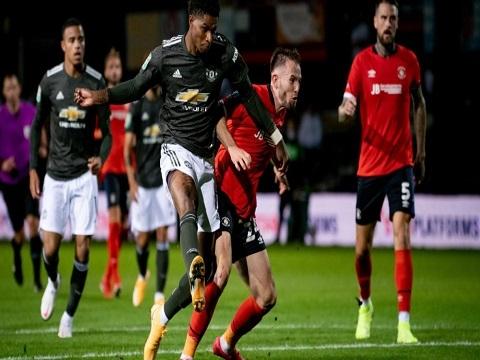 Manchester United 3-0 Luton Town (Vòng ba Cup Liên đoàn)