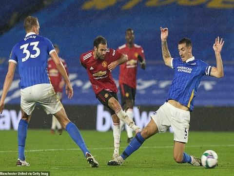 Brighton 0-3 Manchester United (Cup Liên đoàn Anh)