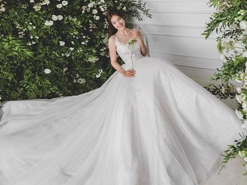 Hé lộ visual đỉnh cao của Lan Ngọc khi diện váy cưới