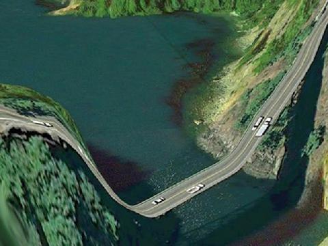 10 con đường kỳ lạ nhất thế giới