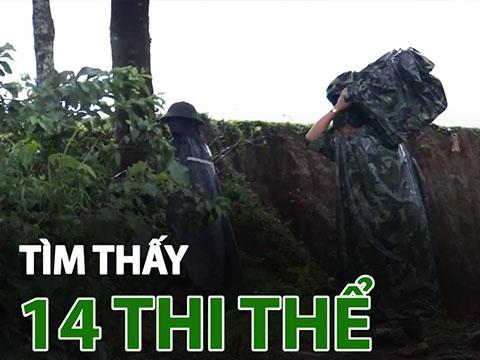 Tìm thấy 14 thi thể vụ sạt lở tại Quảng Trị, điều 2 trực thăng cứu cứu hộ