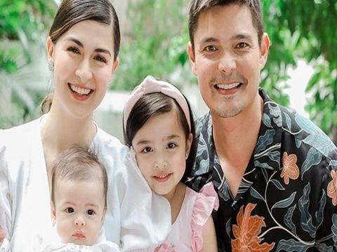 Mỹ nhân đẹp nhất Philippines khoe ảnh gia đình gây 'sốc visual'