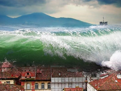 Những trận sóng thần kinh hoàng nhất lịch sử (Phần 1)