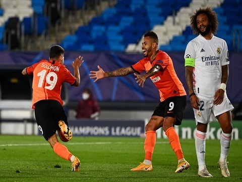 Real Madrid 2-3 Shakhtar Donetsk (Bảng B Champions League 2020)