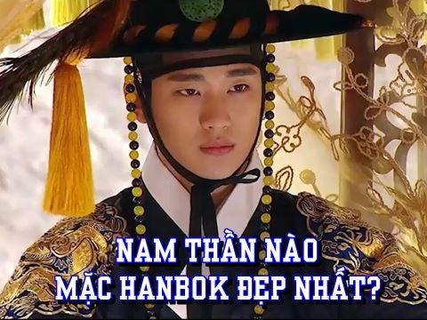 Những mỹ nam Hàn Quốc mặc Hanbok đẹp nhất màn ảnh