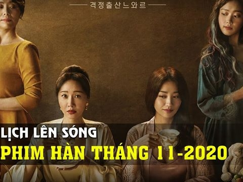 Phim truyền hình tháng 11 Hàn Quốc có gì đáng chú ý?