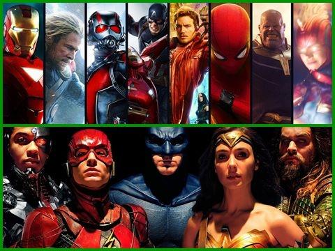 Tổng hợp toàn bộ siêu anh hùng trên nền nhạc Tik Tok cực hay